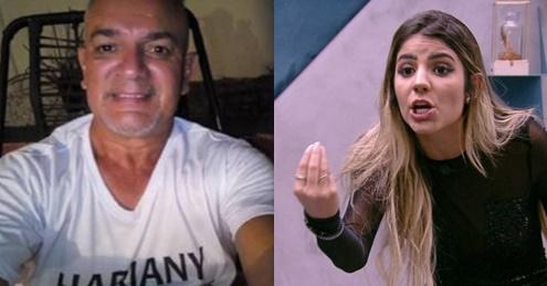 BBB19: Após expulsão da filha, pai de Hariany fica revoltado com Paula: 'Foi falsa! Ficou com medo da Hari'