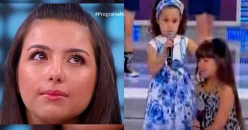 Vídeo: Há alguns anos atrás, Milena orou por Yasmim Gabrielle no 'Programa Raul Gil'