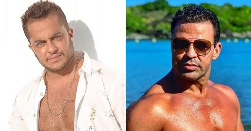 """Após mostrar peitoral definido, Thammy Miranda é comparado a Eduardo Costa e cantor se manifesta: """"Eu gosto de você"""""""