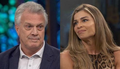 Pedro Bial vai as lágrimas com revelação de Grazi Massafera e deixa público emocionado