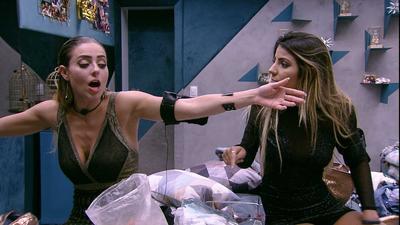 BBB19: Sensitiva diz que viu espírito desencarnado perto de Hariany durante briga com Paula