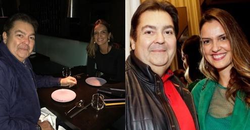 Esposa faz declaração de amor para Fausto Silva: 'Ah, se todos no mundo fossem iguais a você'