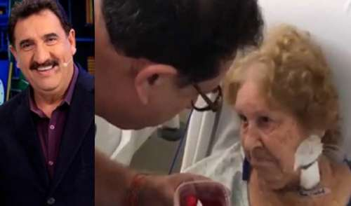 Ratinho deixa tudo de lado para cuidar da mãe idosa e vídeo comovente vem a público