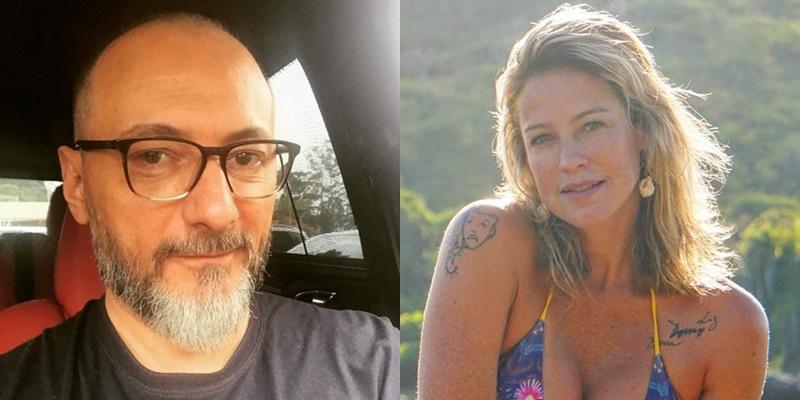 """Brito Júnior sobre Luana Piovani: """"Ela está precisando de um homem de verdade"""""""
