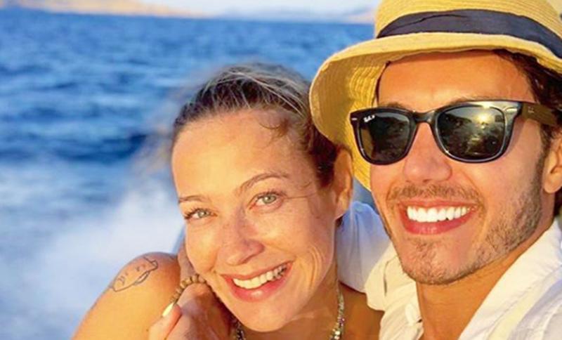 """Luana Piovani curte férias ao lado de atleta que derrotou Pedro Scooby em reality: """"Quase namorando"""""""