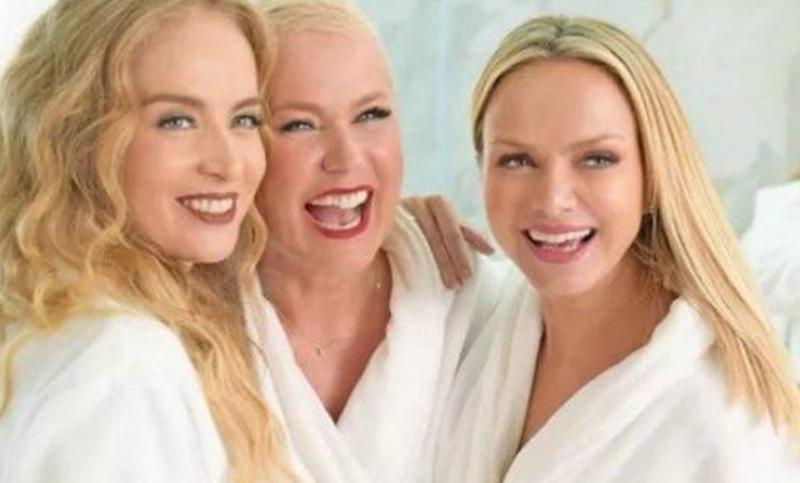 """Xuxa, Eliana e Angélica gravam comercial juntas e desmentem rivalidade: """"A gente cresceu"""""""
