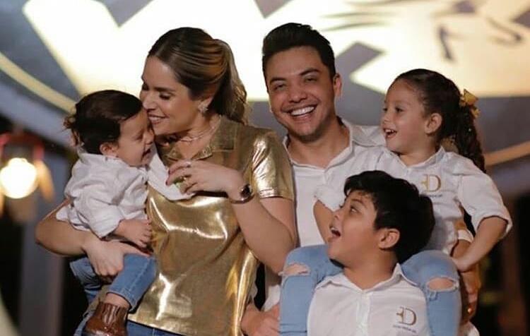 """Wesley Safadão e Thyane Dantas comemoram 1 ano do filho, Dom, com festinha simples: """"Te amamos"""""""