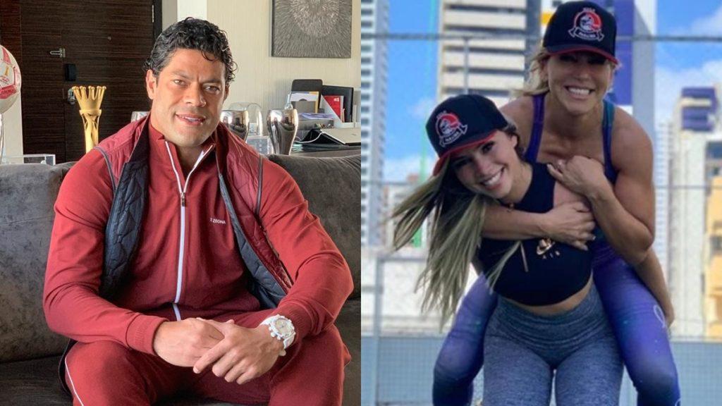 Hulk Paraíba engata namoro com Camila, sobrinha da sua ex-mulher, diz colunista