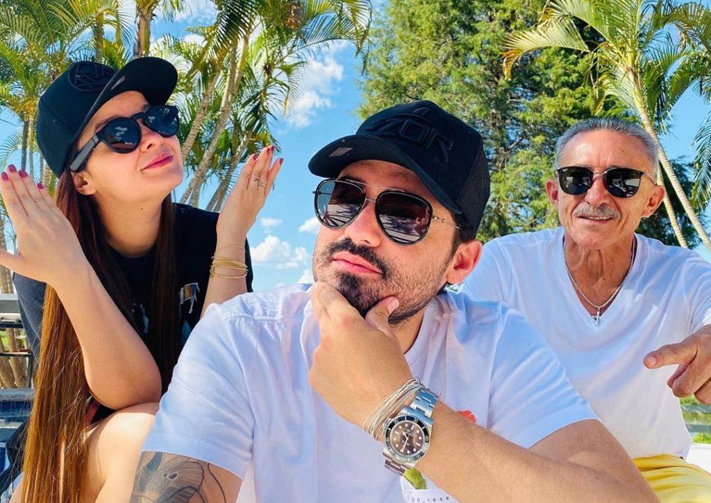 Maiara e Fernando apagam todas as fotos juntos no Instagram e fãs especulam término de namoro