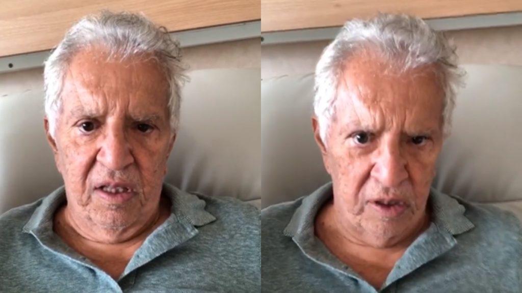 Carlos Alberto é internado com infecção generalizada após ingerir iogurte vencido e faz alerta aos fãs