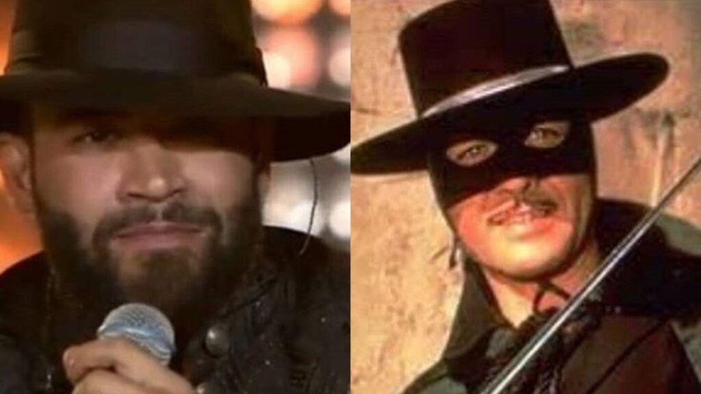 Fãs de Gusttavo Lima comparam sertanejo ao personagem Zorro durante live show