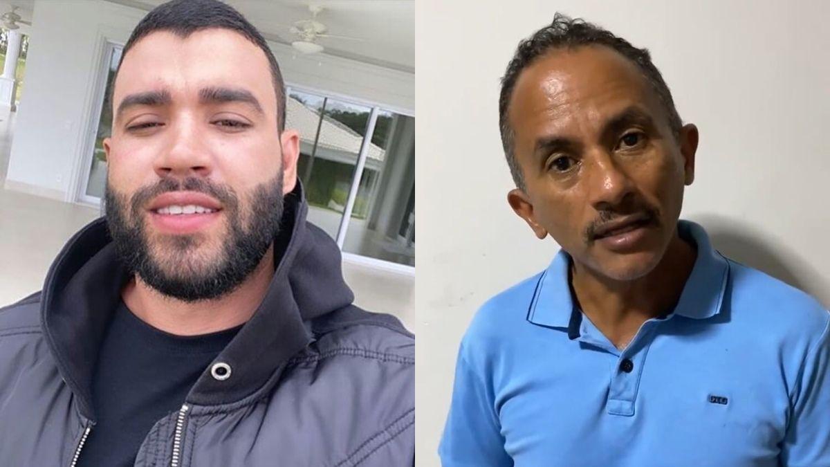 Caneta Azul! Gusttavo Lima surpreende ao convidar fãs para assistir live show de Manoel Gomes