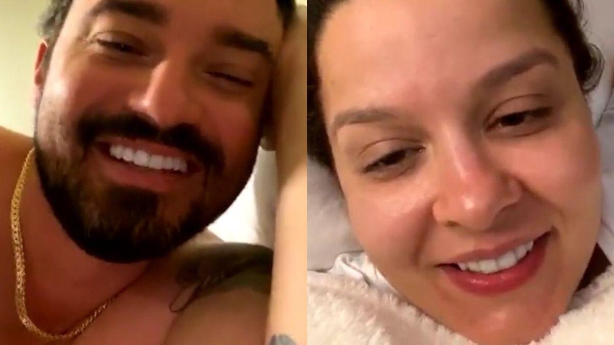 Em live, Maiara e Fernando Zor esclarecem motivo que levou a mais uma discussão de casal
