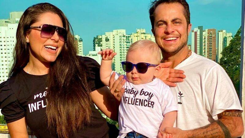 Andressa Ferreira e Thammy Miranda celebram 7 meses do filho, Bento, com festinha de influencer