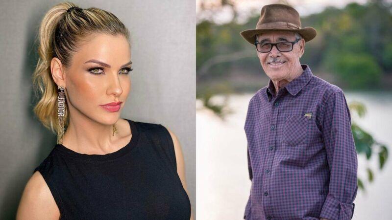 """Andressa Suita parabeniza o sogro no Dia dos Pais: """"Por ser um grande pai e avô"""""""