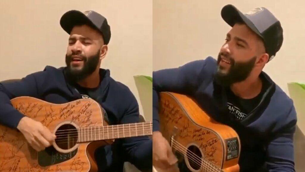 """Sucesso! Gusttavo Lima aparece cantando música inédita do novo DVD 'The Legacy': """"Super Ex"""""""