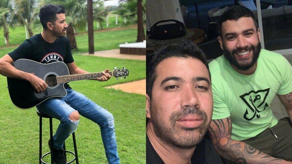 Irmão de Gusttavo Lima mostra antes e depois de ter feito Botox com a doutora Lorrânny Alves