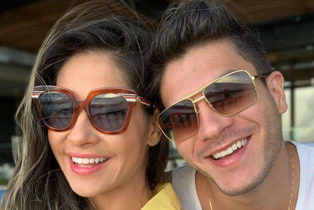 Mayra Cardi é criticada após desejar Feliz Dia dos Pais ao ex-marido Arthur Aguiar e rebate