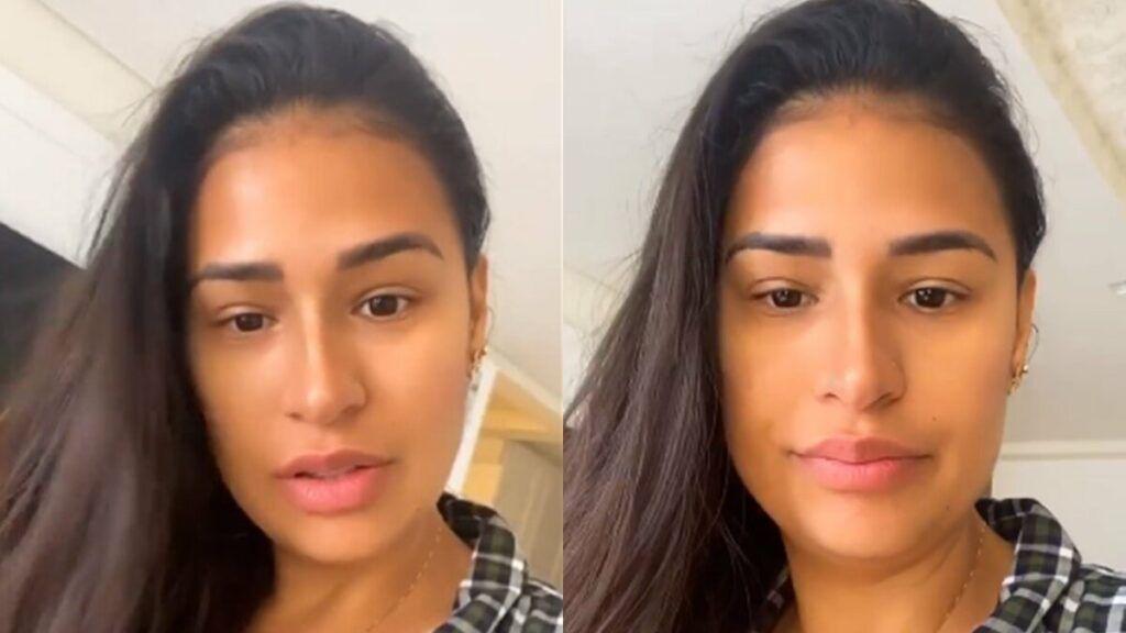 """Simone revela que não está usando maquiagem em casa: """"Prefiro ficar assim de cara limpa"""""""