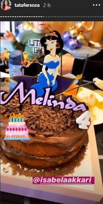Thaís Fersoza celebra os 4 anos da filha Melinda com festa temática de Aladim