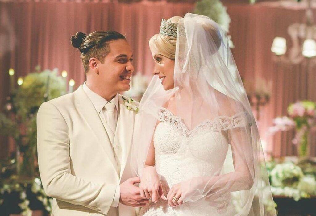 Thyane Dantas e Wesley Safadão trocam declarações ao celebrarem quatro anos de casamento