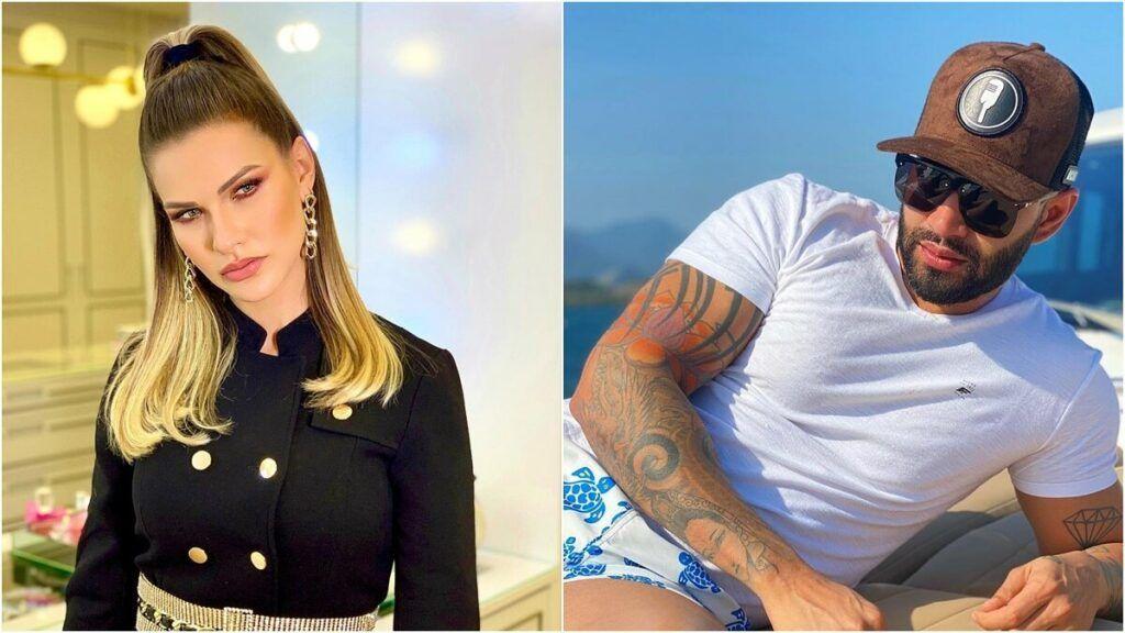 Gusttavo Lima faz pose de influencer em iate e leva bronca da esposa em forma de emoji