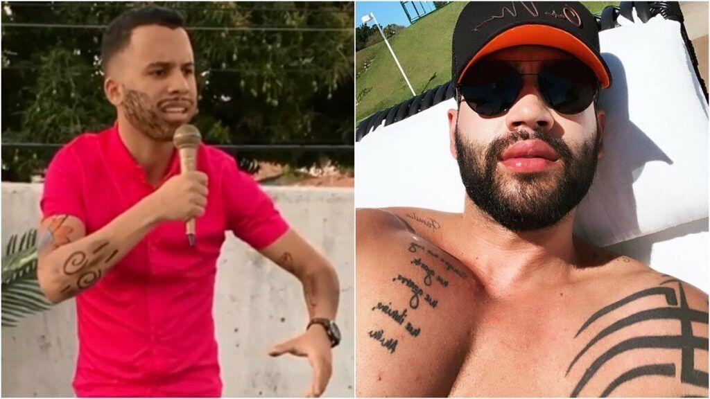 """Após novo vídeo, Gusttavo Lima não poupa nos elogios para intérprete: """"Você é um fenômeno"""""""