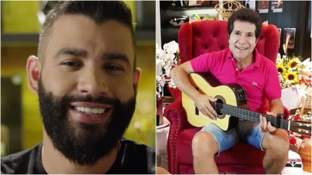 """Gusttavo Lima anuncia 3 horas de live com Daniel e pede opinião dos fãs: """"Qual moda não pode faltar?"""""""