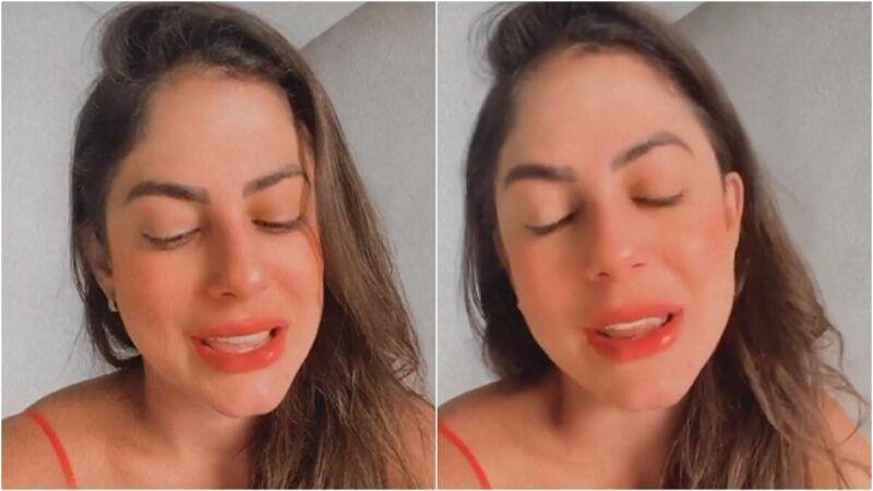 """Mari Gonzalez acorda com sono e lamenta saudades do BBB20: """"Até já chorei"""""""