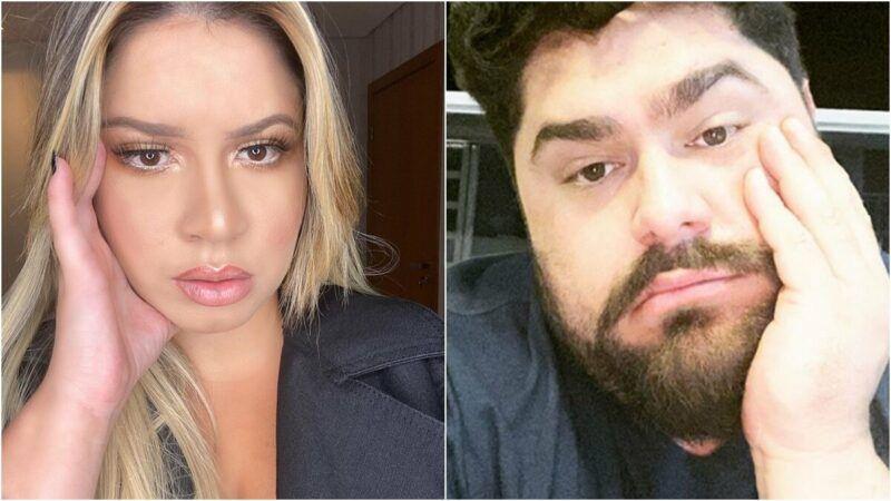 """Marília Mendonça diz que tem 'cara de mau' e Cesar Menotti discorda: """"Amor em forma de gente"""""""