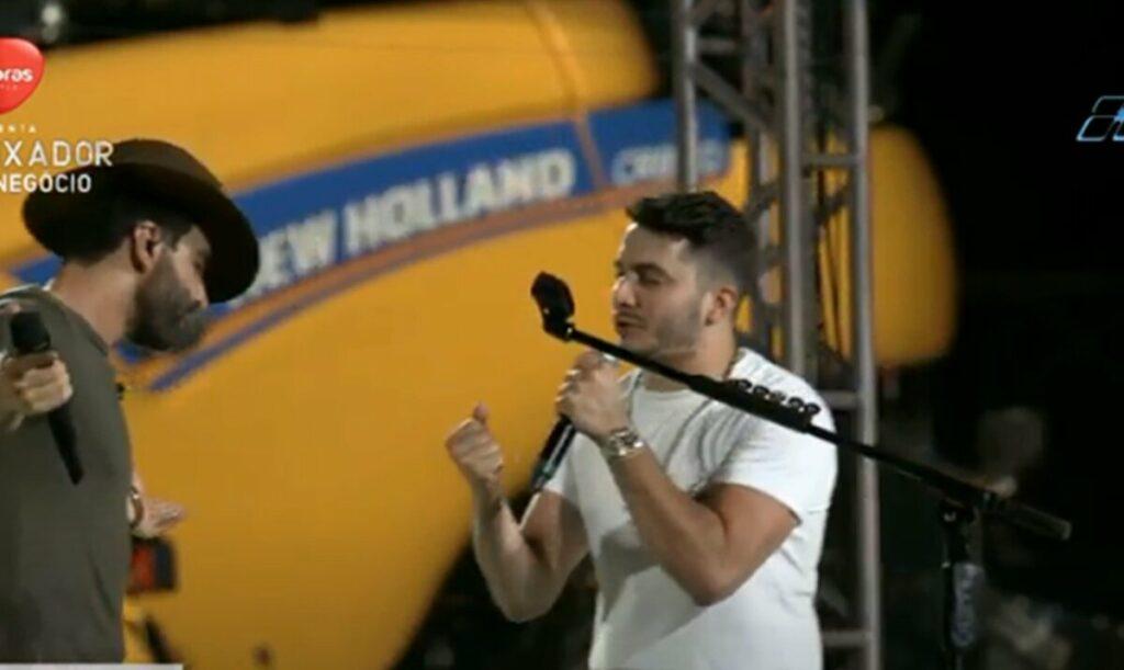 Em live no Mato Grosso, Gusttavo Lima canta 'Investe Em Mim', música preferida de Andressa Suita