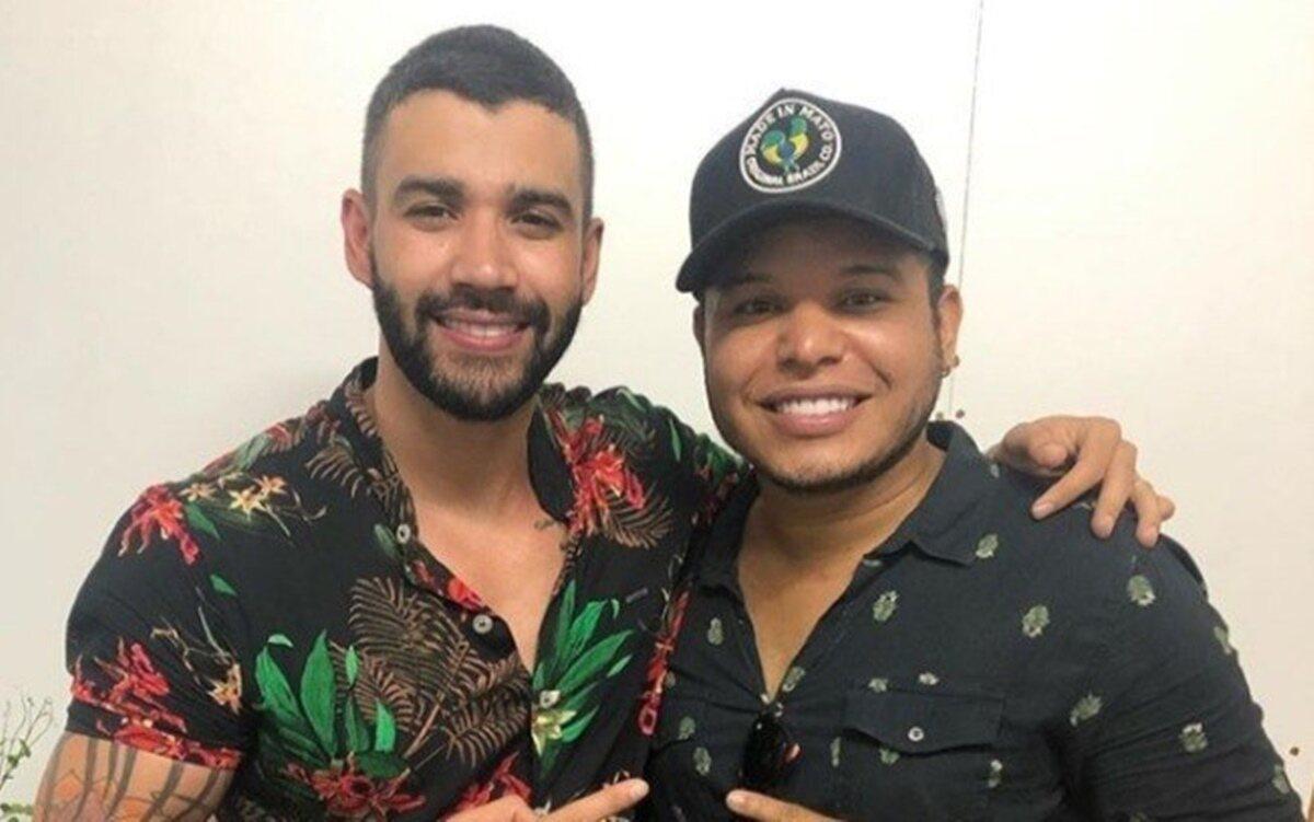 """Tierry revela que Gusttavo Lima profetizou sucesso da música, 'Cem Mil':  """"Vai ser a mais tocada do ano"""" - F5 NOTICIA"""
