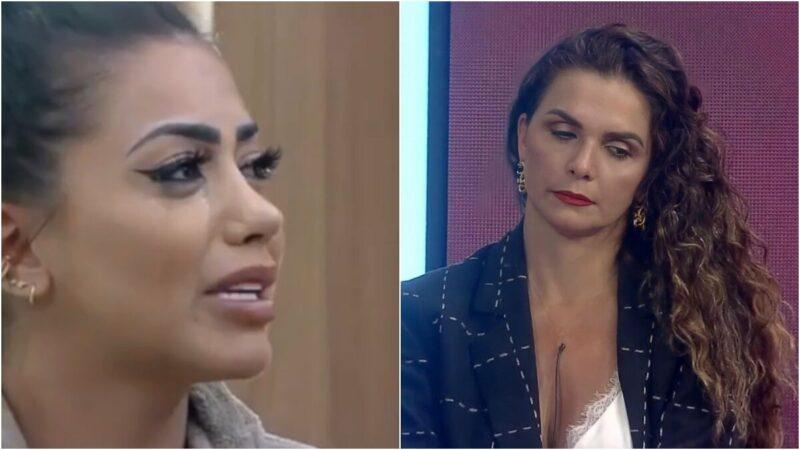 A Fazenda: Record descobre trapaça de Mirella e Luíza Ambiel e cancela presença de eliminada em live