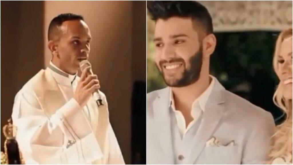 """Vídeo emocionante do casamento de Gusttavo Lima e Andressa Suita vem à tona: """"Lembro do sorriso dela"""""""