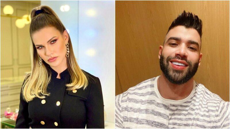 Andressa Suita apaga fotos com Gusttavo Lima em meio a rumores de que sertanejo estaria com affair