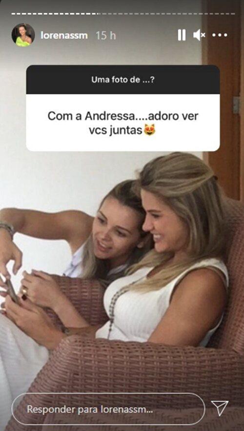 Esposa do irmão de Gusttavo Lima relembra foto com Andressa Suita