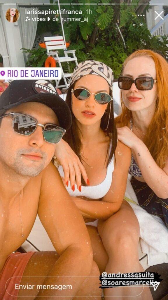 Com advogada em hotel de luxo no Rio, Andressa Suita lista bens de Gusttavo Lima após separação