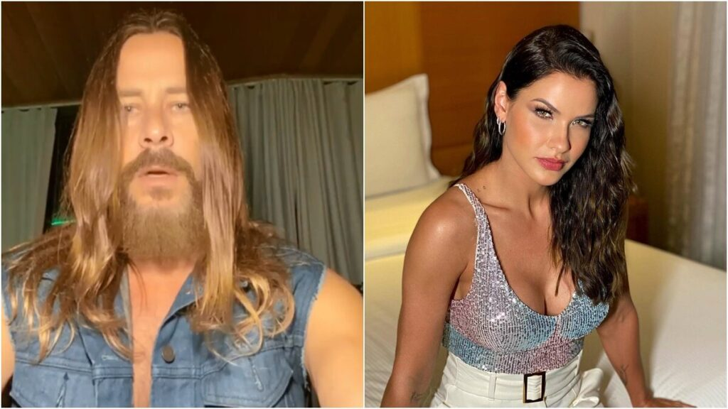 Theo Becker, ex-namorado de Andressa Suita, colocou nome da modelo em uma égua no reality, A Fazenda