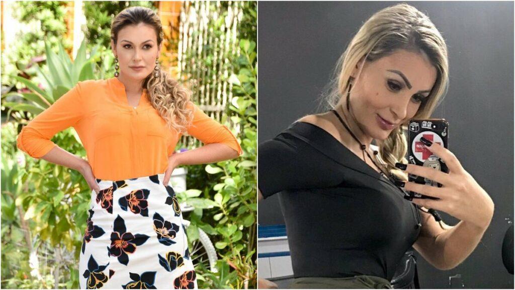 Andressa Urach anuncia que virou garota propaganda do concurso Miss Bumbum