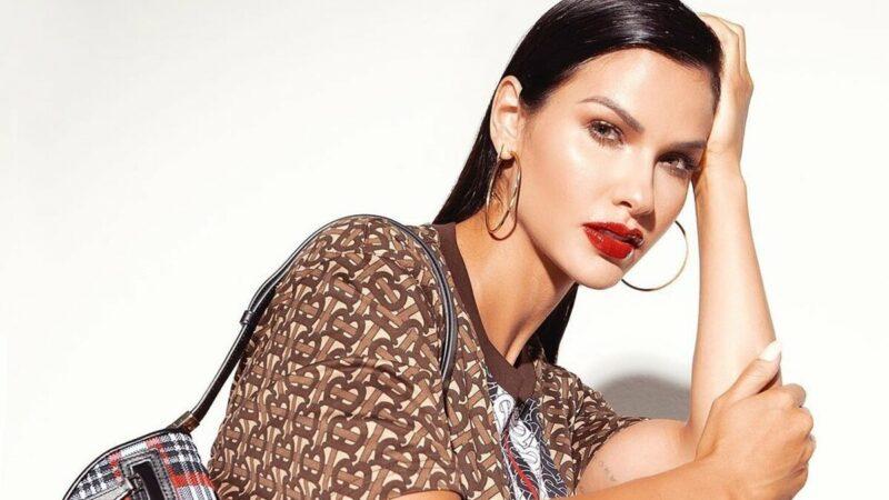 Andressa Suita surge usando look monocromático de mais de R$ 21 mil em ensaio