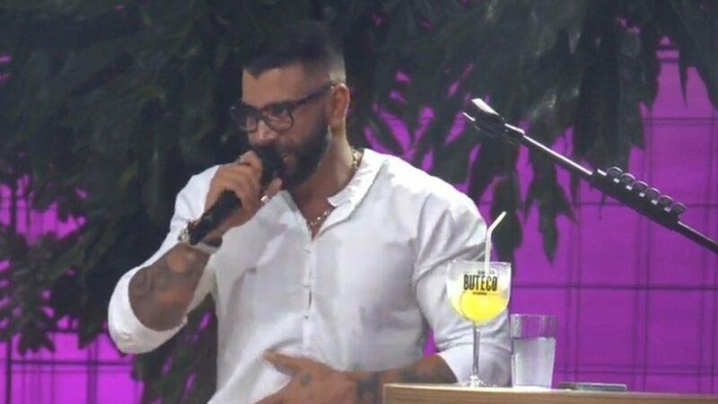 """Em live, Jonas Esticado pede para Gusttavo Lima investir R$ 30 milhões e cantor diz: """"Se tivesse eu tava em Paris"""""""