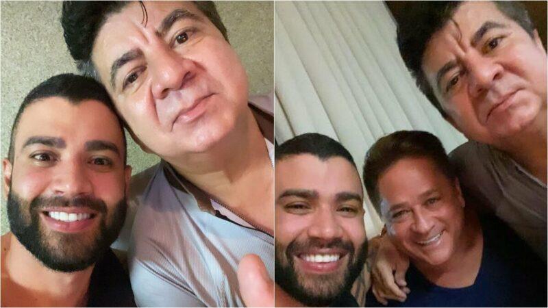 """Esposa de Leonardo revela estado do cantor após morte de assessor: """"Sem  chão"""" - F5 NOTICIA"""