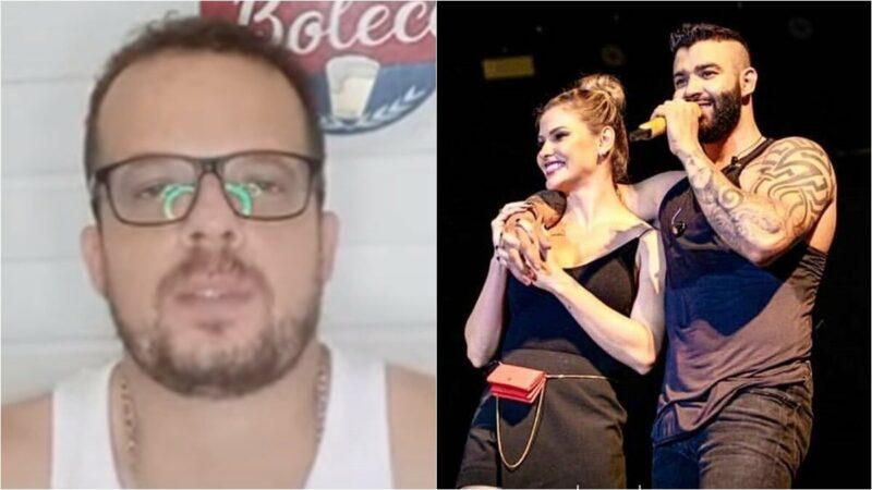 Colunista fala de possível participação de Andressa Suita na live de Gusttavo Lima em abril