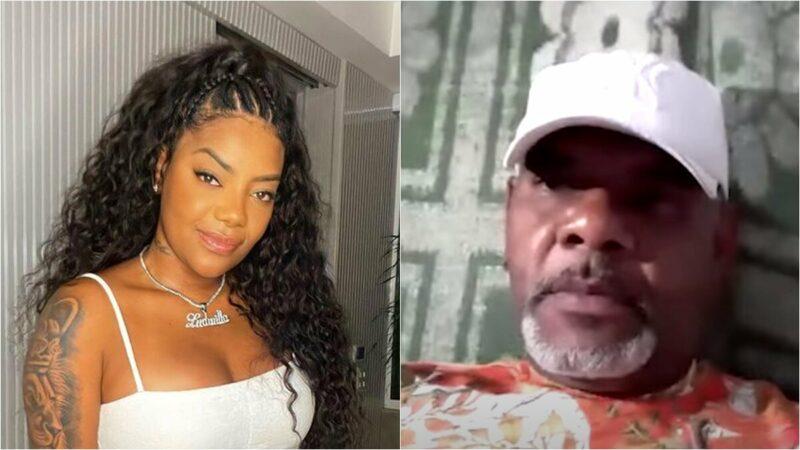 """Pai de Ludmilla nega acusações da mãe da cantora e acusa padrasto: """"Me trata como se fosse lixo"""""""