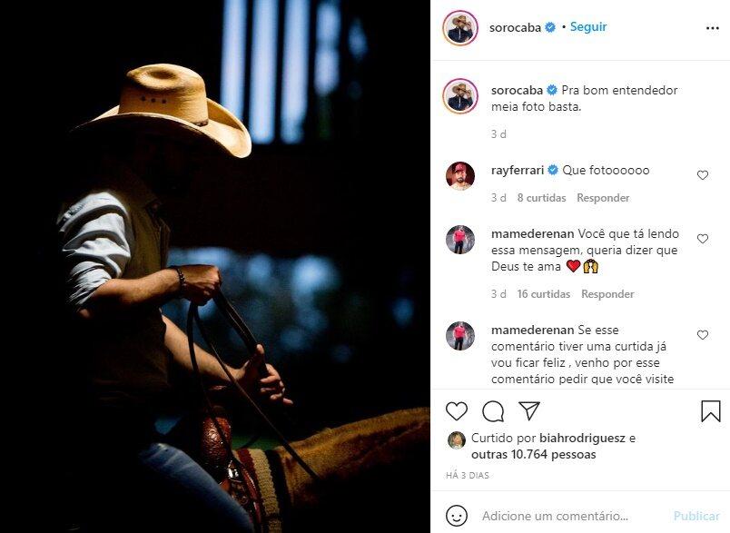Foto de sunga de Gusttavo Lima em Angra dos Reis é suposta indireta para Sorocaba