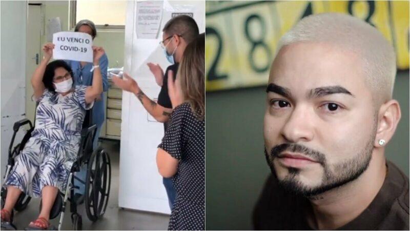 Milagre! Mãe de Yudi Tamashiro recebe alta de hospital após vencer a Covid-19