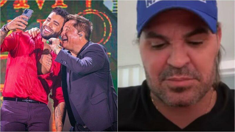 Eduardo Costa diz que ficou com ciúmes da live 'Cabaré' de Gusttavo Lima e Leonardo