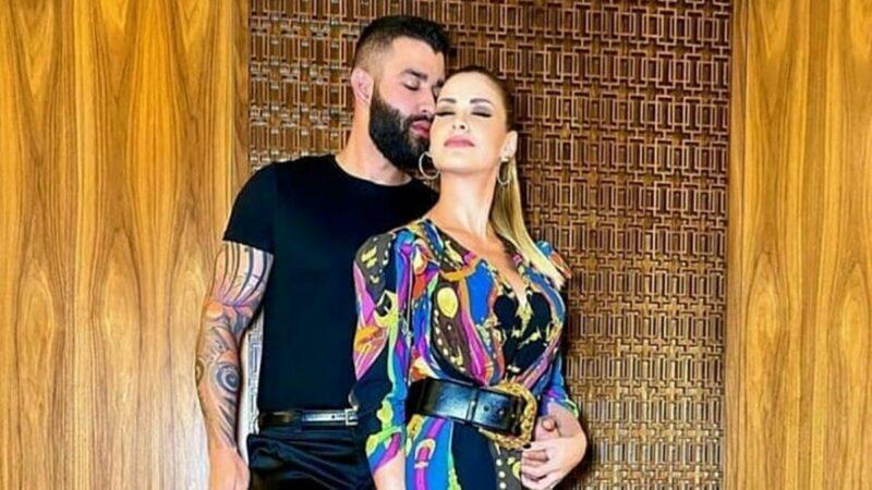 """Gusttavo Lima surge de mãos dadas com suposta mulher e fãs especulam: """"É a mãe dos meninos"""""""