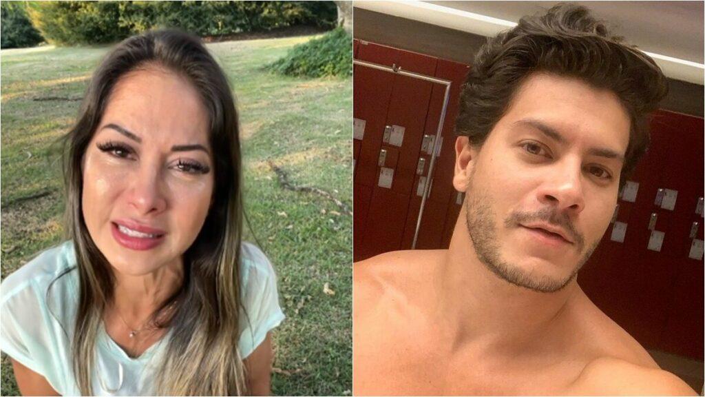 Mayra Cardi termina relacionamento com Arthur Aguiar após oito dias de reconciliação