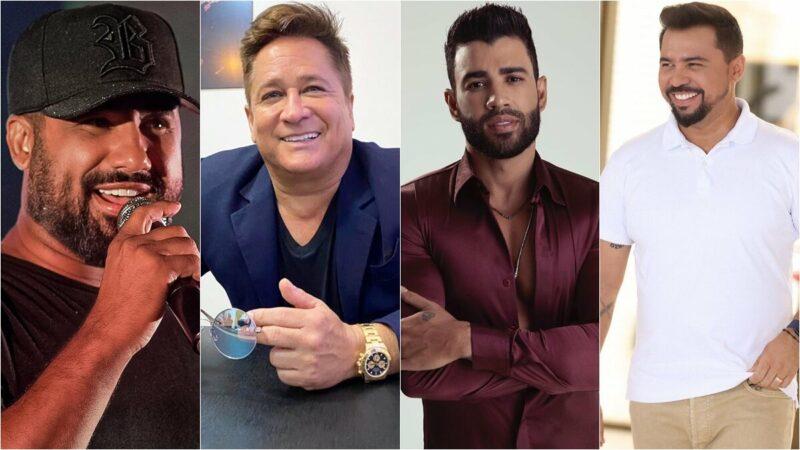 Gusttavo Lima e Raí Saia Rodada irão participar da live de Xand Avião e Leonardo